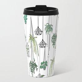 hanging pots pattern Travel Mug