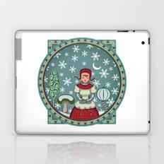 version of peaceful snow 2 Laptop & iPad Skin
