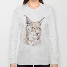 Lynx - Colored Pencil Long Sleeve T-shirt