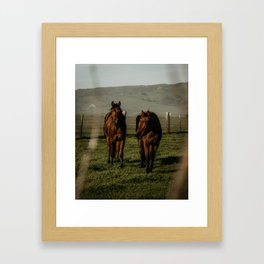 San Simeon Framed Art Print