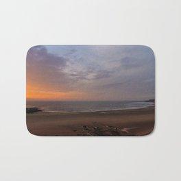 Dawn on Tynemouth Beach Bath Mat