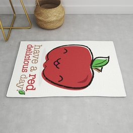 Red Delicious Day! Rug