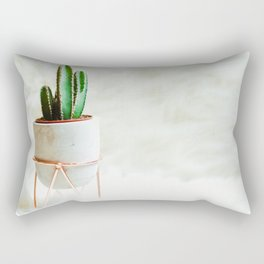 Simple Cactus Rectangular Pillow