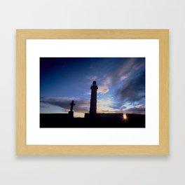 Spire of Lloyd (Inland Lighthouse), Kells, Co. Meath, Ireland Framed Art Print