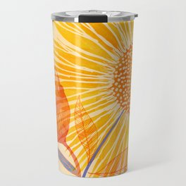 Tuesday Afternoon Sunflowers Travel Mug