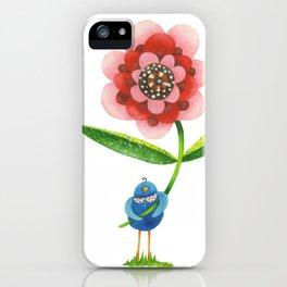 Red Wonder Flower iPhone Case
