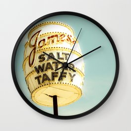 Taffy Wall Clock