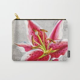Macro Flower #2 Carry-All Pouch
