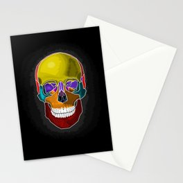 Skull Anatomy Stationery Cards