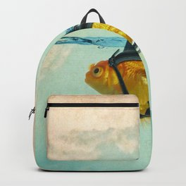 Brilliant Disguise Goldfish Backpack