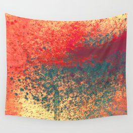 Ice Shade Blue Wall Tapestry