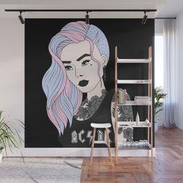 Punk Princess Wall Mural