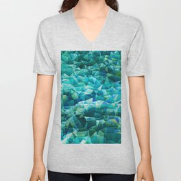 Ocean Blues Unisex V-Neck