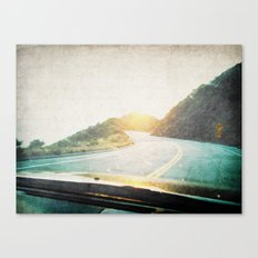 Letters From the Road 2 Canvas Print