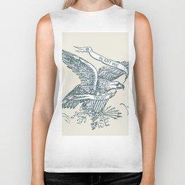 Rubino Rise In Art We Trust American USA Eagle Biker Tank