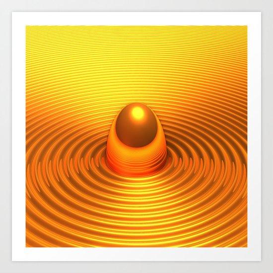 The Golden Egg Art Print