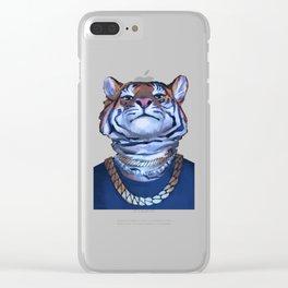 Misha Tiger Clear iPhone Case