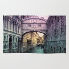 Ponte dei Sospiri | Bridge of Sighs - Venice (colored version) Rug
