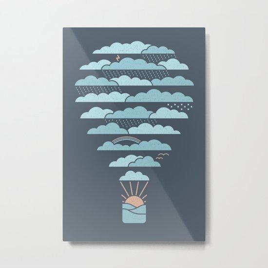 Weather Balloon Metal Print