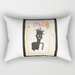 Basquiat 1960 Rectangular Pillow
