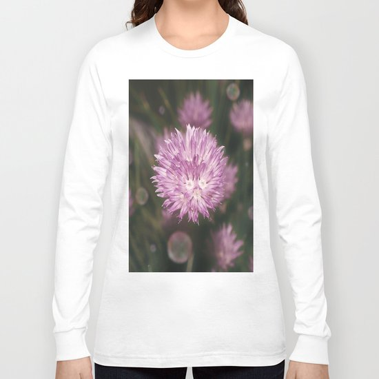 Chive bubbles Long Sleeve T-shirt