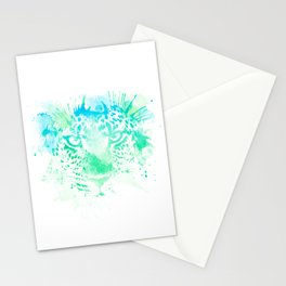 Splashed Ounce by Fernanda Quilici Stationery Cards