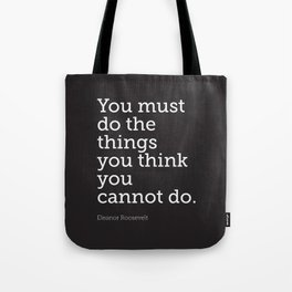 You Must Do... Tote Bag
