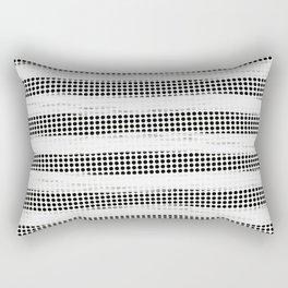 Black Diamonds Gross Stripes /Strokes/Lines Rectangular Pillow