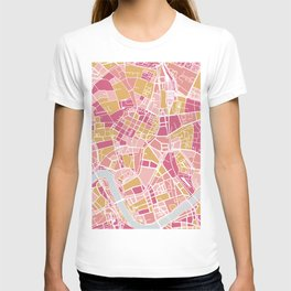 Cracow map T-shirt