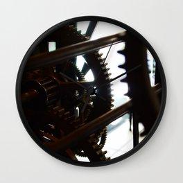 Grandes roues, petites dents. Wall Clock