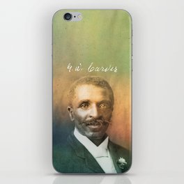 Veneer. Carver. 1864-1943. iPhone Skin