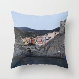 Manarola. Throw Pillow