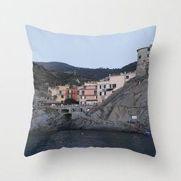Manarola. Throw Pillow
