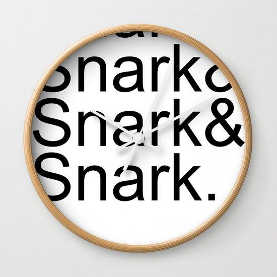 #Snark Wall Clock
