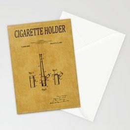 Cigarette Holder Patent 1 Stationery Cards