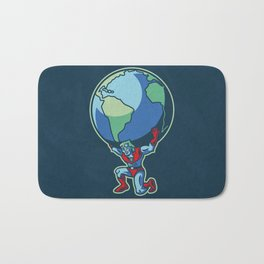 The Weight of the World Bath Mat