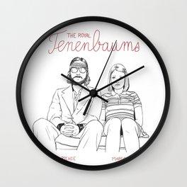 The Royal Tenenbaums (Richie and Margot) Wall Clock