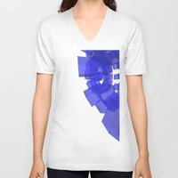 halo V-neck T-shirts featuring HALO [07] by Bruno Barreto