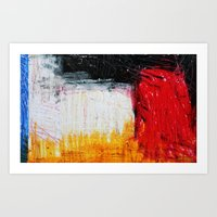 too German without blue Art Print