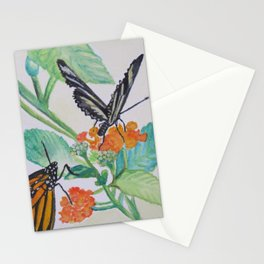 Zebra Longwing Butterfly Stationery Cards