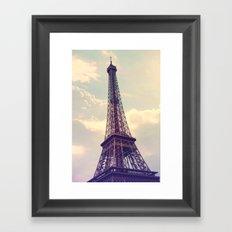 Paris Le Tour Eiffel  Framed Art Print