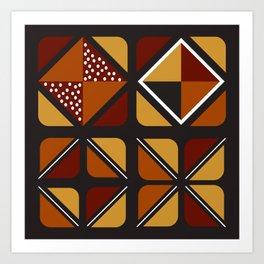 Zulu sawubona Art Print