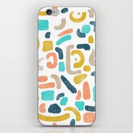 Alphabet Soup iPhone Skin