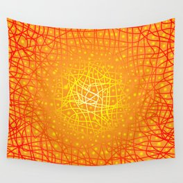 Heat Background Wall Tapestry