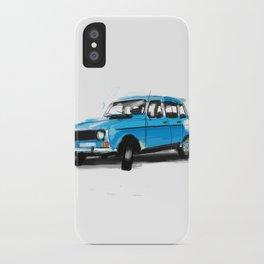 Renault 4L iPhone Case