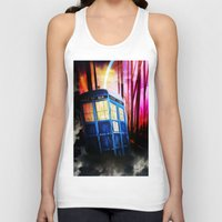 dr who Tank Tops featuring dr who by shannon's art space