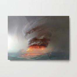 Hot Tower Metal Print