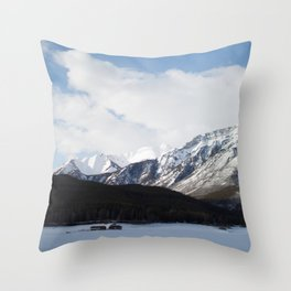 Vermilion Lakes III Throw Pillow