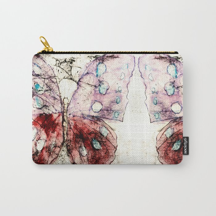 Butterfly, my Butterfly Carry-All Pouch