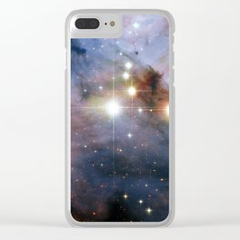 Colossal stars Clear iPhone Case